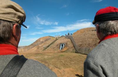 Men at Fort Fisher
