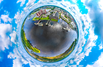 SkyNAV Convention District planet