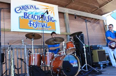 Carolina Beach Music Festival Drummer