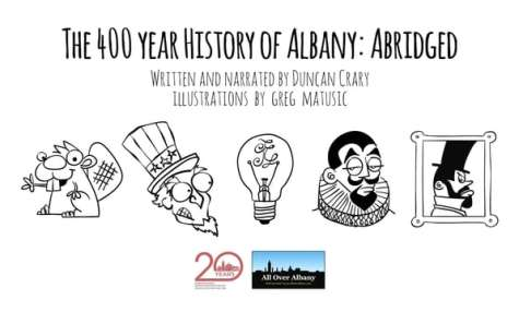 The 400 Year History of Albany: Abridged