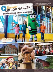 2018 Lehigh Valley Visitors Guide Cover
