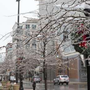 Winter on Calhoun Street - Fort Wayne