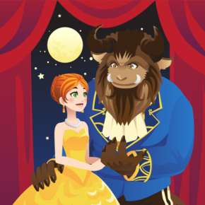Beauty and the Beast - Fort Wayne Ballet Promotional Image - Fort Wayne, IN