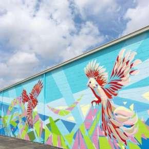 Firefly Coffee House Mural - Fort Wayne, IN