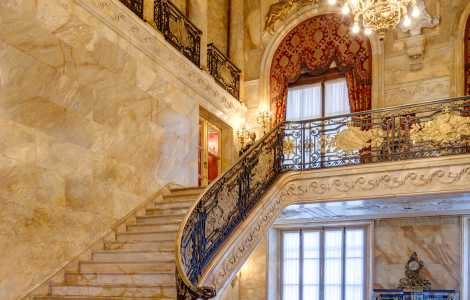 Marble House Foyer