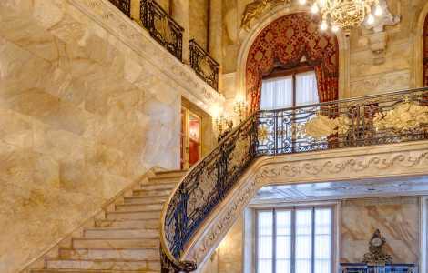 Marble House Foyer