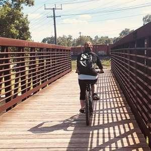 Erie Lackawanna Trail biking