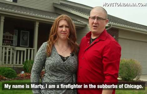 Move to Indiana - Marty and Gina, former IL residents