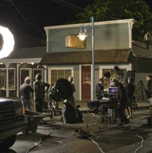Once Upon a Time Nighttime Filming