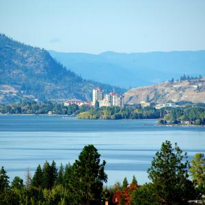 Kelowna from a distance