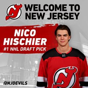 #1 NHL Draft Pick-Nico Hischier