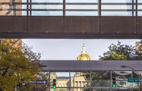 Downtown Des Moines Skywalk