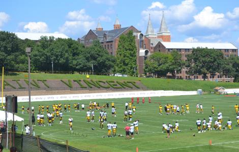 Steelers Training Camp, Saint Vincent College