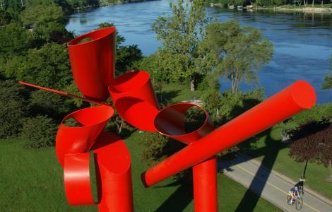 Rockford Symbol Sculpture