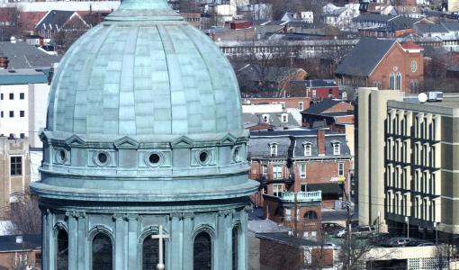 St Patrick Cathedral Dome (Daylight) - Harrisburg, PA