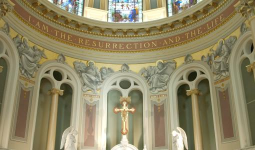 St Patrick Cathedral Interior Alter - Harrisburg, PA