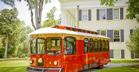 Trolley at Rose Hill