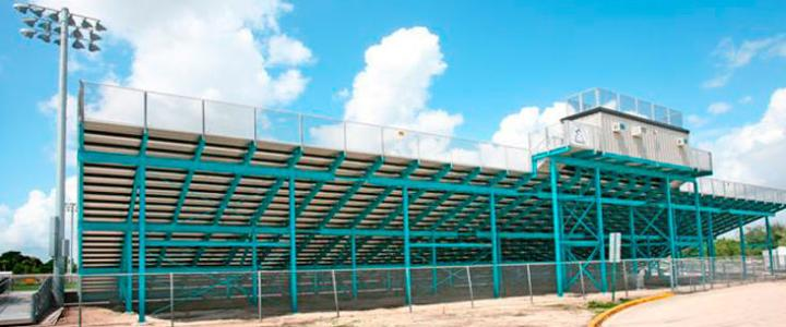 Archbishop McCarthy School bleachers