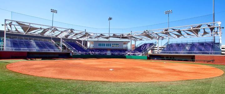 College Softball Bleachers Southern Bleacher Company Inc