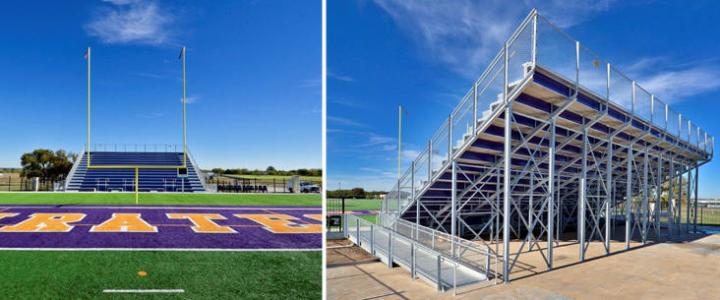 Football Stadium bleachers