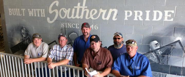 Southern Bleacher staff