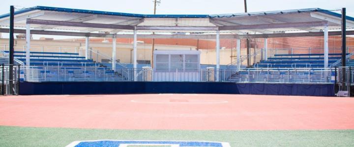 Fort Stockton Softball, Built by Southern Bleacher