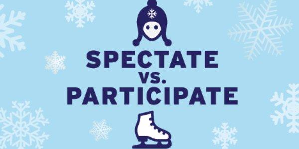 Spectate v. Participate Graphic