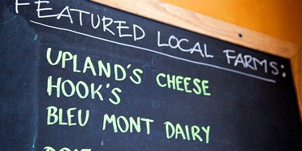 Featured Local Farms :: BrasserieV Menu Chalkboard