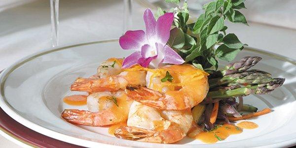 Dining - Plate of Shrimp