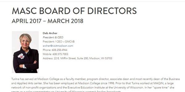 MASC Board of Directors