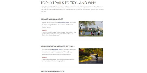 Top 10 Trails to Try-And Why 2016