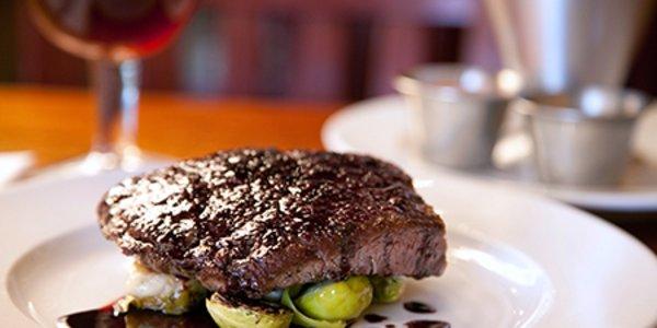 Steak Plate w Wine