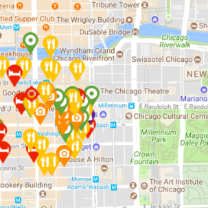 Interactive Chicago Map crop