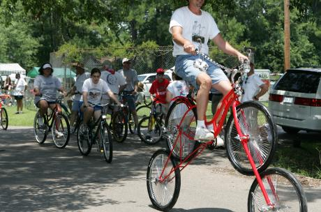 Louisiana Bicycle Festival in Abita Springs