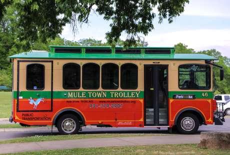 Mule Town Trolley