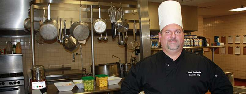Chef Aristo from Food Network Show Executive Chef Double Tree Overland Park