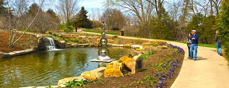 Whirlwind: Art in Motion at The Overland Park Arboretum