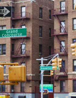 Grand Concourse, Bronx, NYC, Tagger Yancey IV