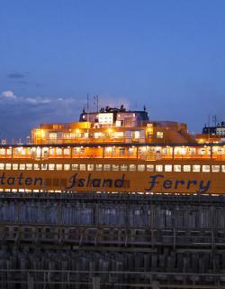 Staten Island Ferry, Night time