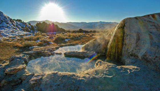 By Land: Hot Spring