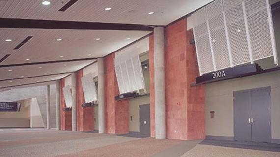 Meeting Room Concourse at Mountain America Expo Center