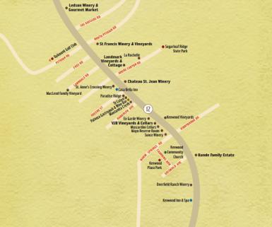 Kenwood Map