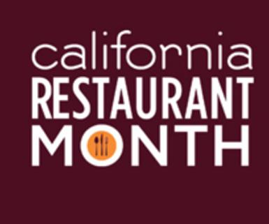 CA Restaurant Month