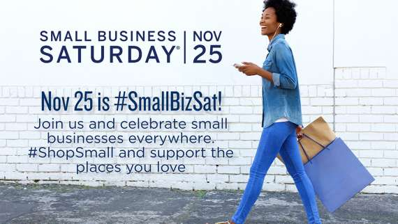 Get ready to celebrate Small Business Saturday