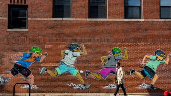 Hebru Brantley's Nike Running