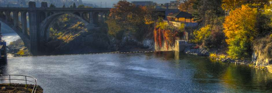 Autumn Colors at the Spokane Falls