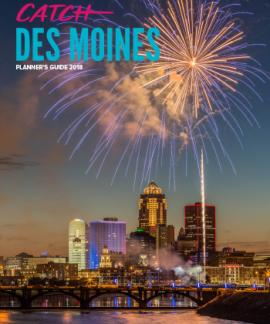 2018 Catch Des Moines Planner's Guide Cover