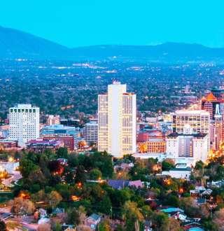 Downtown Salt Lake Skyline