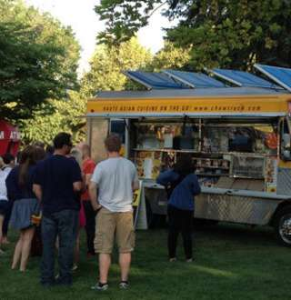The Chow Truck at Pioneer Park