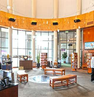 Salt Lake Visitors Center in the Salt Palace